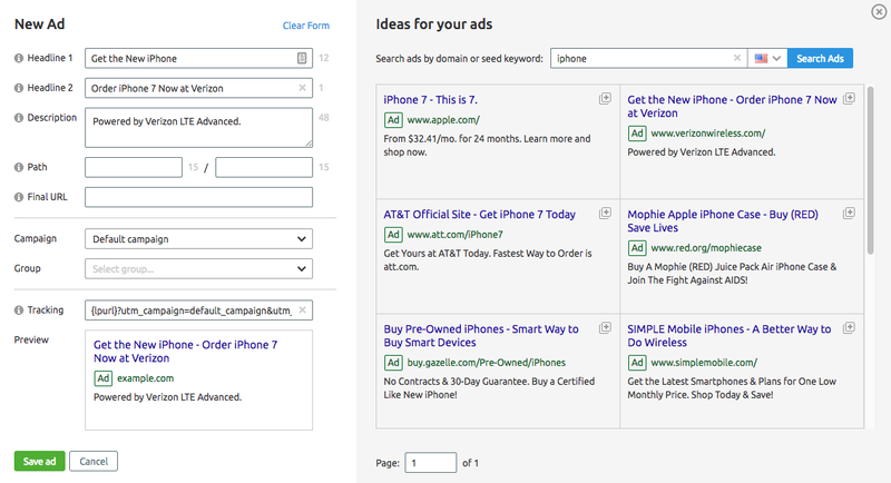 SEMrush: Ads Builder: Open Beta image 4
