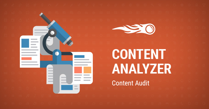 SEMrush: Content Analyzer: Full and Detailed Audit of Your Site's Content image 1