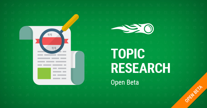 Topic research banner