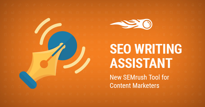SEO writing assistant banner